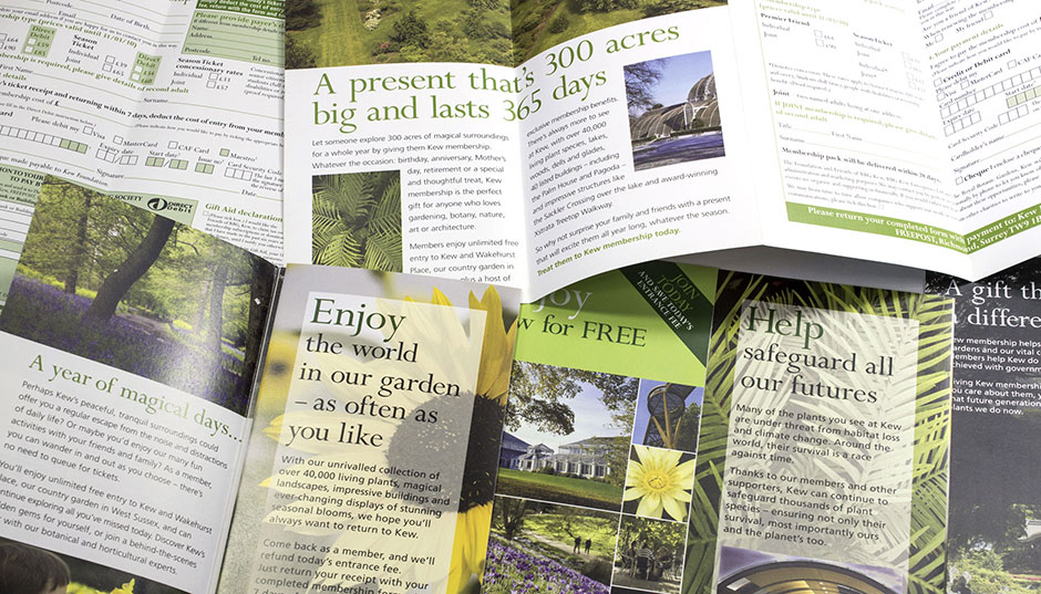 Membership information and promotional leaflet