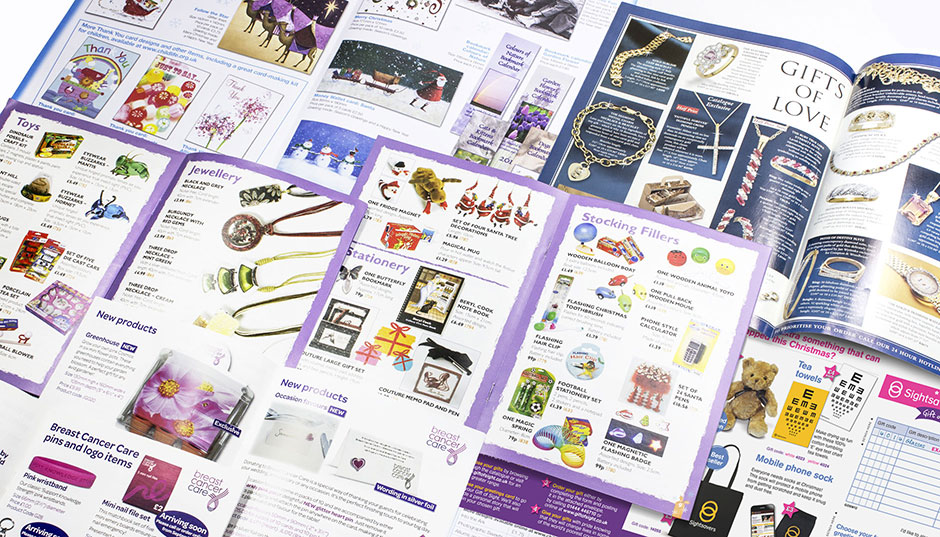 Various product catalogue for promotional items